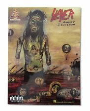 SLAYER CHRIST ILLUSION SONG CHORD BOOK NEW OFFICIAL BAND MUSIC HAL LEONARD