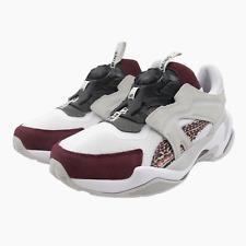 New Mens Puma Les Benjamins Thunder Disc White Trainers UK 12 Sneakers 369527 01