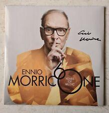 Ennio Morricone, 60 years 2LP Edizione limitata numerata e autografata.sigillato
