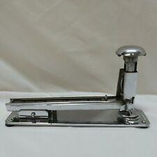 Vintage Markwell Desk Stapler Model RTP Hammer Top Chrome Finish