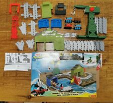 """thomas the tank & friends adventures """"cranky at the docks"""" track play set toy"""