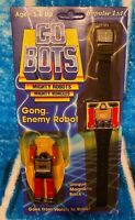 Go Bots Gong Enemy Robot Watch Vintage 1984 Rare MOSC
