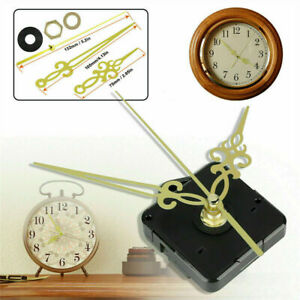 Newly Replacement Quartz Wall Clock Movement Mechanism Motor DIY Repair Tool Set