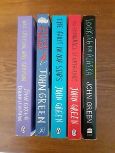 John Green Books bundle of 5