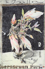 Horst Janssen: Magnolie. Dessins - gravures - affiches - livres. Sign. Plakat.