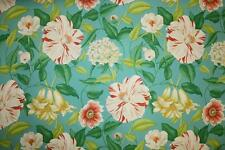 Sanderson Curtain/Upholstery Fabric Design Floreanna bold bright floral 11 mtrs