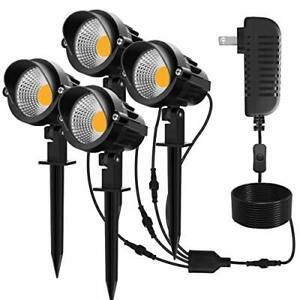 Led Landscape Lights 7W 12V Plug in Low Voltage Landscape Lights Pathway Lights