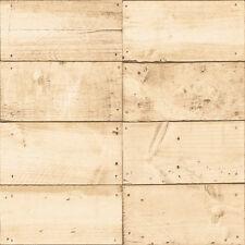 Vliestapete Holzkisten Panele Optik verschlag beige braun A20901