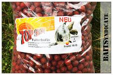 TOP SECRET Futterboilie Frutti  10kg /18mm Futterboilies zum Karpfenangeln NEU