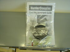 HUNTER DOUGLAS CORD REPLACEMENT KIT WITH GUIDE, CORD, TOOL, SPARE PARTS NEEDED +