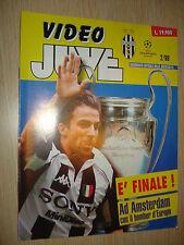 VIDEORIVISTA UFFICIALE DELLA JUVENTUS FC VIDEO JUVE 2/98 DA COLLEZIONE JUVE