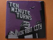 "TEN MINUTE TURNS ""Leaving Robot City"" 2008 ~ Creative Rock ~ SEALED"