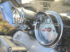 HONDA MAGNA GAUGE VISORS SPEEDO TACH CHROME CLASSIC SPORTY NEW MOTORCYCLE PARTS