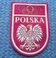 PATCH PATCHE NOC POLAND OLYMPIC 1970's