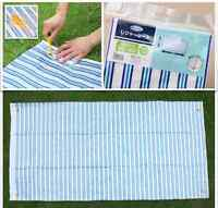 2× Picnic Blanket With 4 Securing Pegs! Waterproof Mat Outdoor Camping Beach Rug