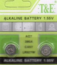 2 PILES SR927SW / AG7 / SR927 / LR927 / 395 / 1,5V ALKALINE-ENVOI RAPIDE