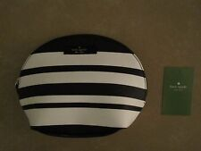 Kate Spade Keri Arbour Hill Printed Bon Bon Stripe Cosmetic Bag - NWT