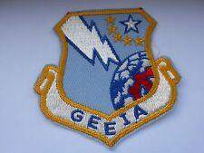 RAF /USAF  aviation squadron  patch  GEEIA  trafic control  1960-70