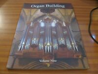 ORGAN BUILDING JOURNAL OF THE INSTITUTE OF BRITISH ORGAN BUILDERS VOLUME 9