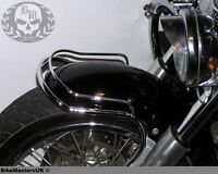 YAMAHA XVS 650 DRAG STAR (V-STAR) CUSTOM FRONT CHROME FENDER BUMPER TRIM RAIL