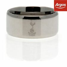Tottenham Hotspur Football Club Stainless Steel Band Ring Size Medium UK PP