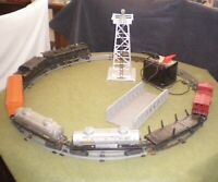 LIONEL O27 #2026 2-6-2 POSTWAR LOCOMOTIVE & COMPLETE TRAIN SET. 1948. RUNS WELL!