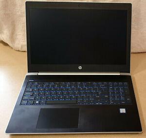 """HP ProBook 450 G5 I5-8250U 8GB 256GB SSD WEBCAM WIFI BT HDMI USB-C 15.6"""" WIN 10"""