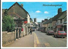 Moretonhampstead, town centre with Plymouth Inn & Post Office S. Devon 1988 PMK