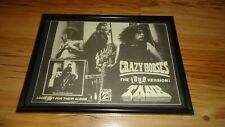 TANK crazy horses-Framed original advert