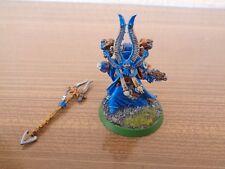 Warhammer 40K Chaos Space Marine Lord Ahriman Painted Metal OOP