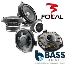 """Focal BMW 1 , 3 Series X1 2 x 8"""" Underseat Car Subs & Front Door Component Kit"""