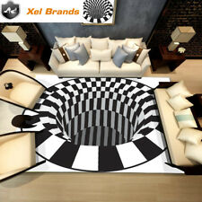 3D Modern Luxury Rug/Carpet Optical Illusion. Non-slip