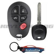 Remote Key Fob Set for 2004 2005 2006 2007 2008 2009 2010 Toyota Sienna