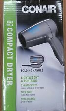 Compact Dryer Folding Handle. 1875 Watt Dryer