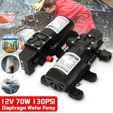 12V  Water Pump 130PSI Self Diaphragm Water Pump High Pressure Automatic Switch
