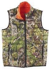 NWT REVERSIBLE down hunting vest AMERICAN OUTDOORSMAN green brown orange Sz M