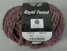 (11,90 €/100 g): 50 Gg LG Royal Tweed, Fb. 65 lila mit grün    #4077