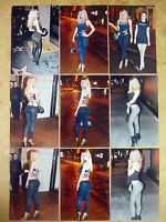 SET OF 9 4X6 PHOTOS OF ACTRESS SOPHIE TURNER ,GAME OF THRONES SET  S-6