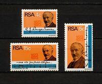 ✔️ (YYBD 314) South Africa RSA 1973 MNH Mi 424 -6 Sc 395 -7 C. J. Langenhoven