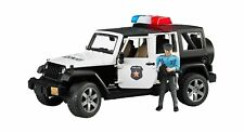 Jeep Wrangler Unlimited Rubicon polizia con poliziotto e accessori Bruder