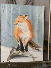 More details for fox portrait  hare rabbit