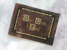 Once Upon a Time Scrapbook,Wedding Guest Book,Autograph,Photo Album,Henry's Book