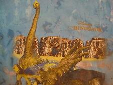Disney World Disneyland Dinosaur Cartoon Tie Dye Blue T Shirt S