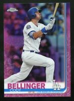 CODY BELLINGER 2019 Topps Chrome PINK REFRACTOR Card #158 Los Angeles Dodgers