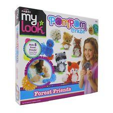 Cra-Z-Art My Look Pompom Craze - Forest Friends
