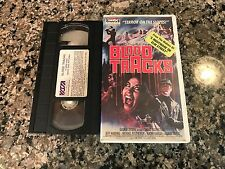 Blood Tracks Rare VHS! 1986 Secluded Mountain Horror! Madman The Prey Grizzly