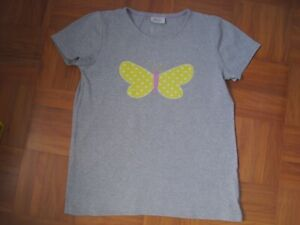 MINI BODEN T-Shirt -Schmetterlings Applikation- 9-10 Jahre