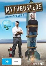 Mythbusters : Season 8 (DVD, 2016, 9-Disc Set) - Region 4