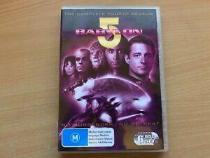 Babylon 5 Season 4 The Fourth Series Four (DVD 6-Disc 1997) R4 Good Condition