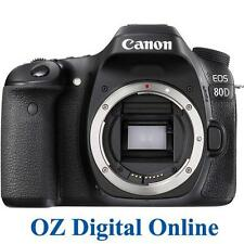 NEW Canon EOS 80D Body 24.2MP Wifi NFC Full HD Digital SLR Camera 1 Year Au Wty